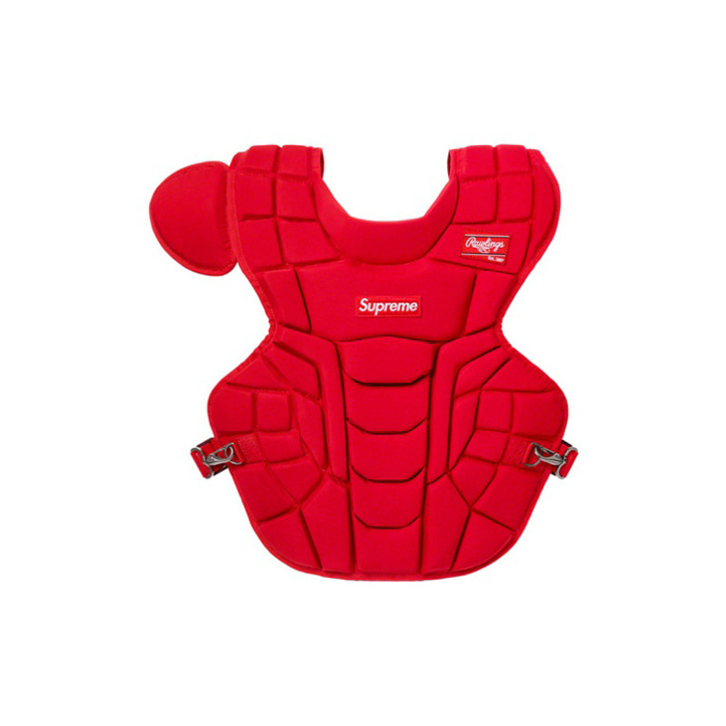 RAWLINGS CATCHER'S CHEST PROTECTOR (RED)