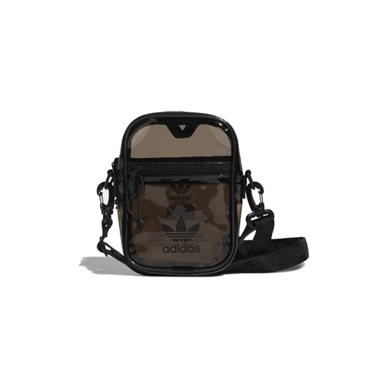 TINTED FESTIVAL CROSSBODY BAG (BLACK)
