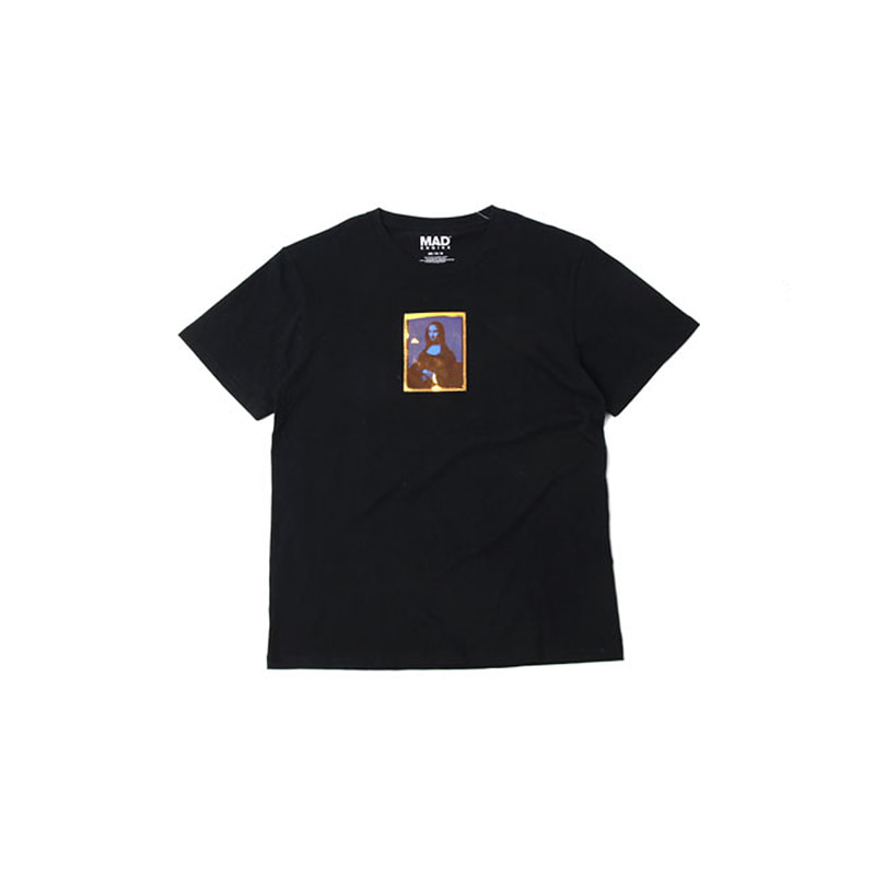 MONA LISA HOLOGRAM TEE (BLACK)
