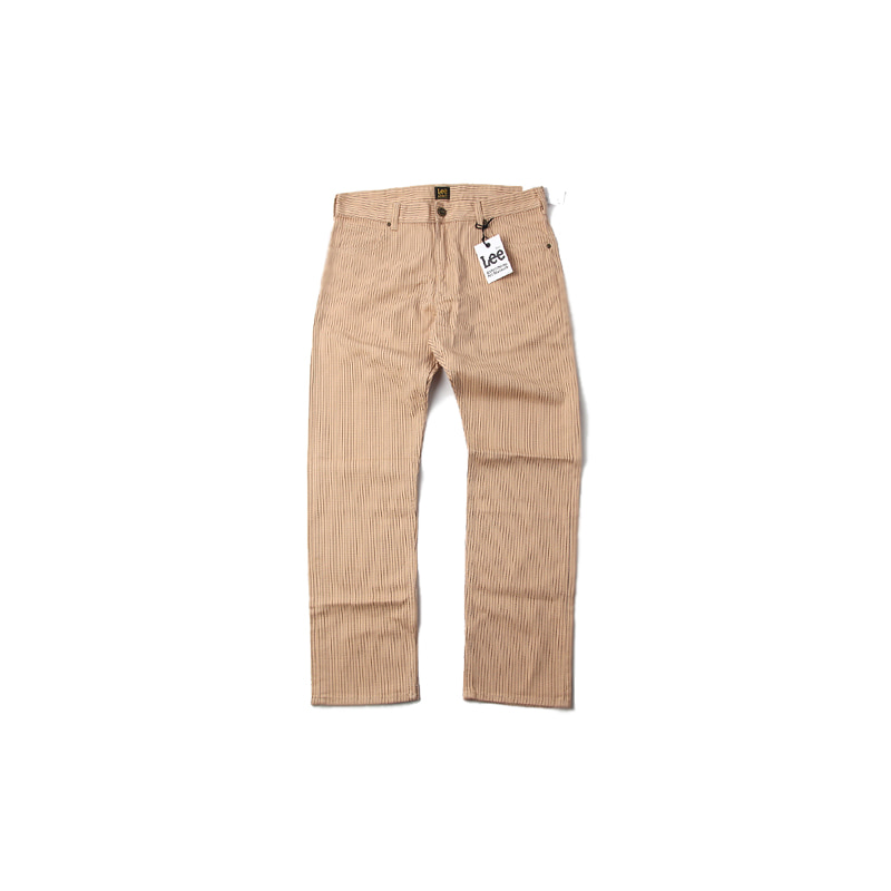ALIFE X LEE PINSTRIPE TAPERED LEG (BEIGE)