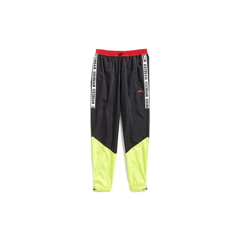 CITRON POLY PANTS (BLACK)