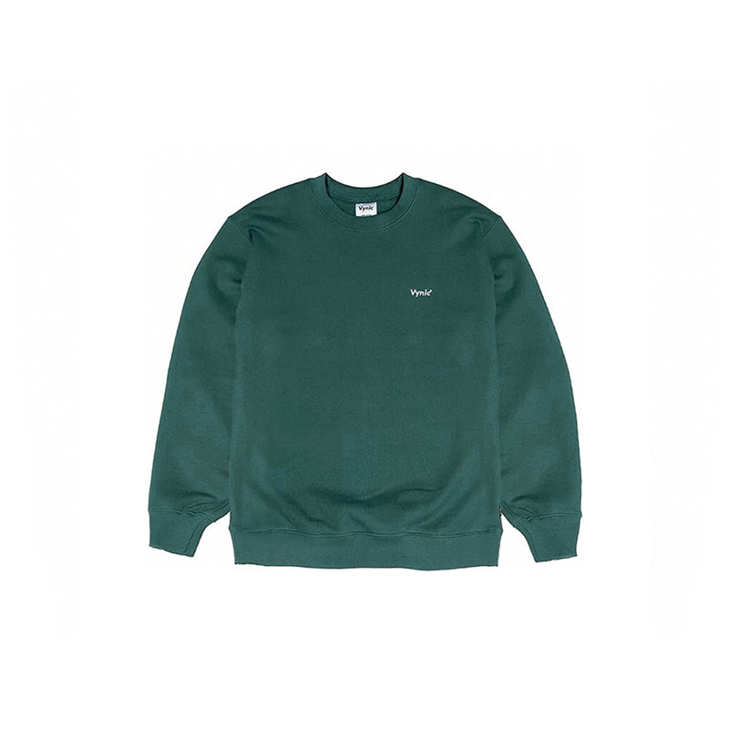 SMALL LOGO CREWNECK (FOREST)