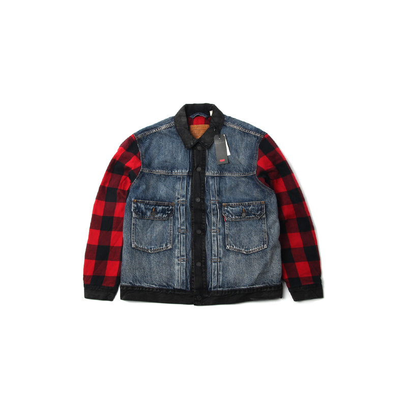 TYPE2 HYBRID TRUCKER JACKET (MULTI)